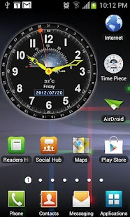 Clockwise Timepiece (+Widget) - screenshot thumbnail