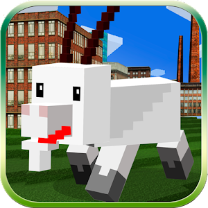 Cube World: Blockhead Goat 3D for PC and MAC