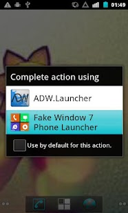 Fake Window 7 Launcher - screenshot thumbnail