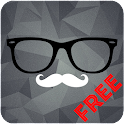 Hipster Clock Free - UCCW Skin icon