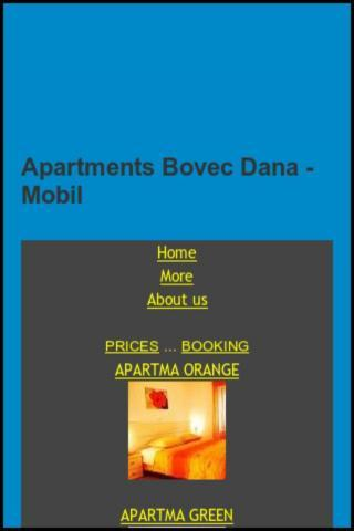Apartments Dana - Bovec - Soca
