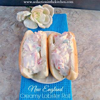 New England Creamy Lobster Roll – Skinny