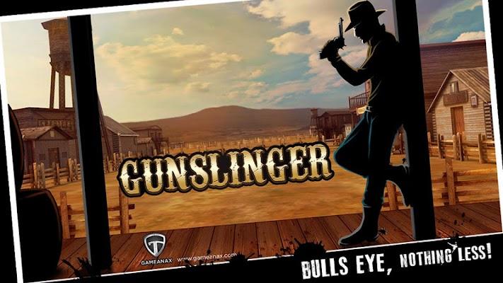 Gunslinger shooting challenge - screenshot