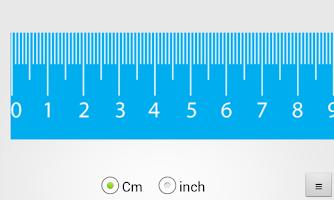 Screenshot of Ruler (cm, inch)