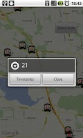 Screenshot of Tampere Bus Radar - No ads