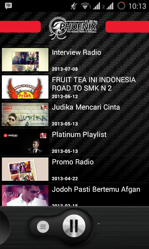 Phoenix Radio Bali 91.0 fm- screenshot