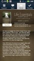 Screenshot of Life Essentials QR Reader