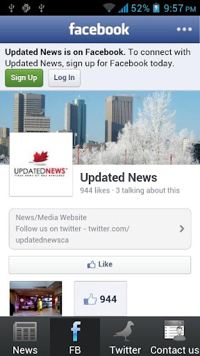 【免費新聞App】Updated News - updatednews.ca-APP點子