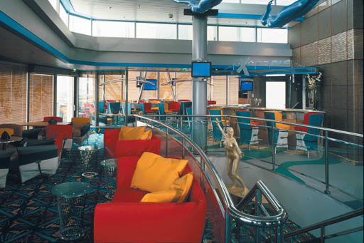 You won't miss your favorite team play if you head to Celebrity Millennium's Sports Bar.