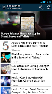 Entrepreneur Daily - screenshot thumbnail