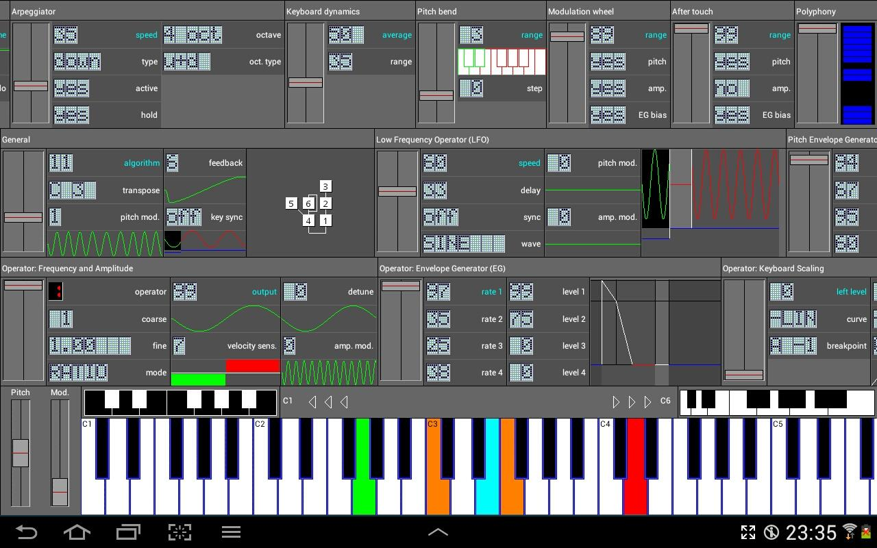 FM Synthesizer [SynprezFM II] - screenshot