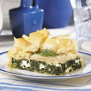 Quick and Easy Spinach Pie
