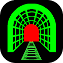3D Train Tunnel Simulation LWP icon