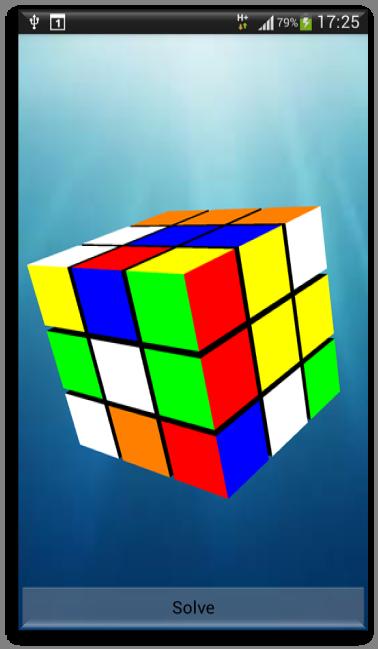 Cube Solver - screenshot