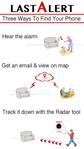 Last Alert Pro Find Your Phone