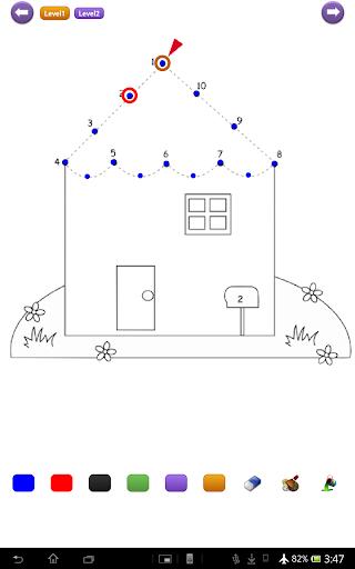 玩免費漫畫APP|下載Dots Drawing & Coloring Plus app不用錢|硬是要APP