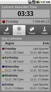 Vana'diel Timepiece - screenshot thumbnail