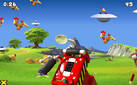 Crazy Chicken - Invasion v1.0.5