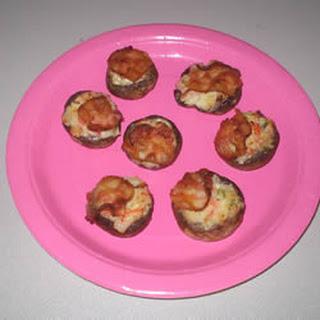 Seafood Stuffed Mushrooms.