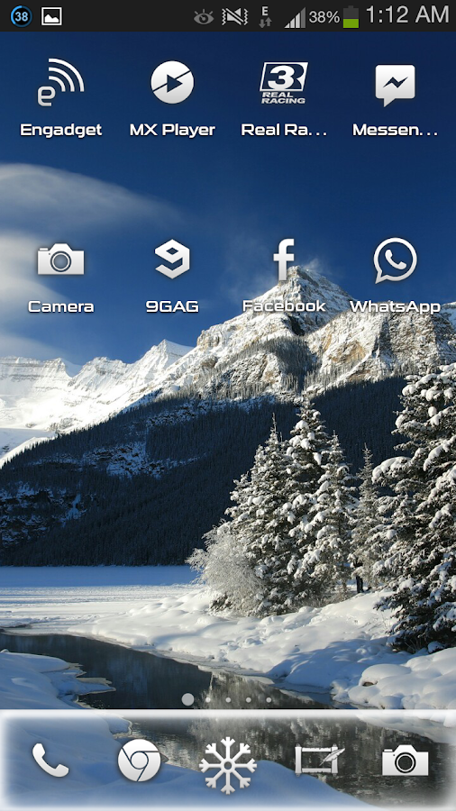 Winter PRO Theme - screenshot