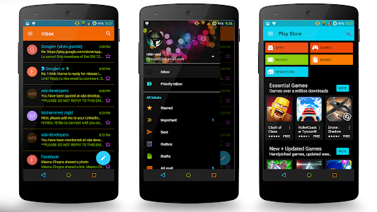 Neon Colors Theme CM12 v1.30