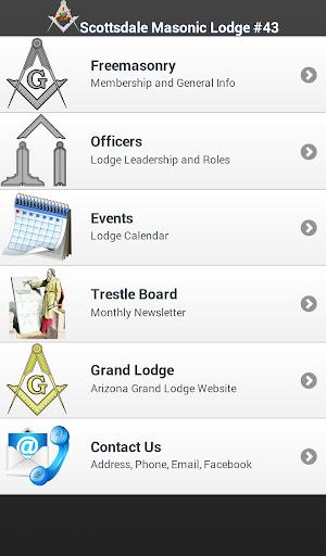 Scottsdale Masonic Lodge 43