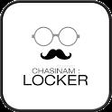 Simple Gray go locker theme icon