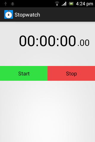 Simple Stopwatch for Teachers