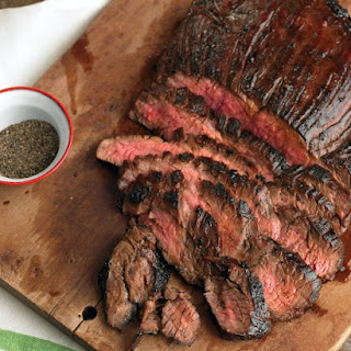 Soy-Marinated Flank Steak.