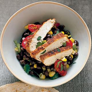 Cumin Chicken with Black Beans.