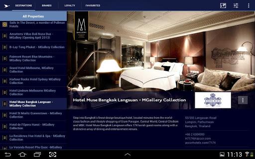 【免費旅遊App】Accor Hotels Asia Pacific-APP點子