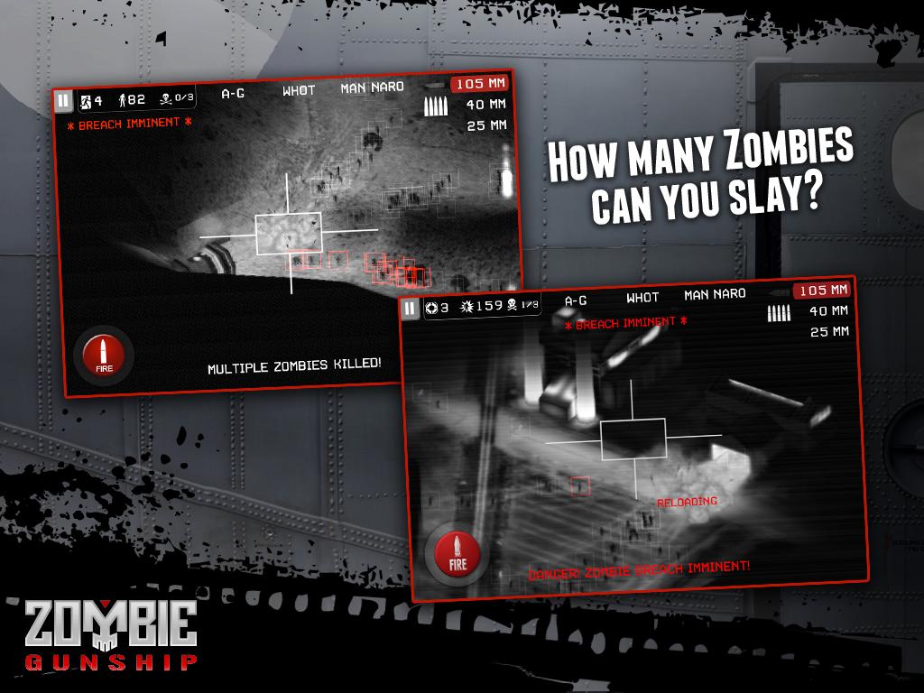 Zombie Gunship screenshot #10