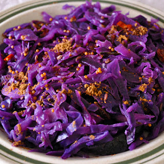 INDIAN SPICED RED CABBAGE