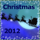 Christmas Theme Santa's Sleigh icon