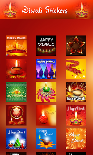 Diwali chatting stickers