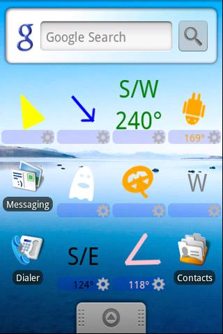 Compass Widget Lite - screenshot