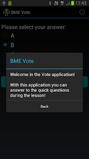 BME Vote- screenshot thumbnail
