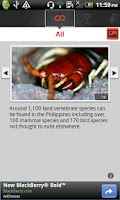 Screenshot of Country Facts Philippines