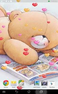 玩個人化App|泰迪熊動態壁紙免費|APP試玩