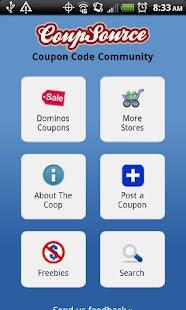 Clothing Coupons Fashion Deals - screenshot thumbnail