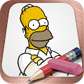 Easy Draw: Homers Family APK for Bluestacks