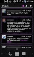 Screenshot of LauncherPro s23 HONEYCOMB-PINK