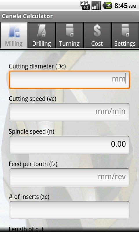 Canela Calculator- screenshot
