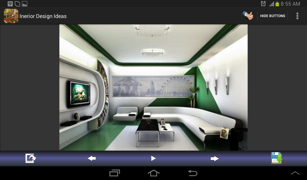 Interior Design Ideas Screenshot
