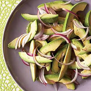 Avocado-and-Onion Salad.
