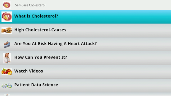 Cholesterol- screenshot thumbnail
