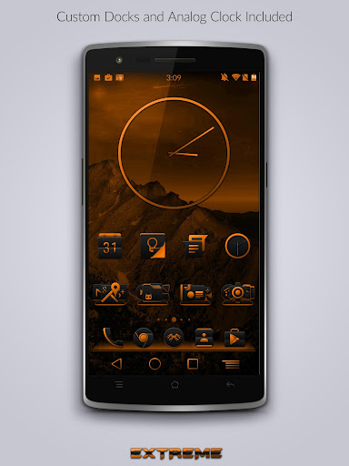 JB Extreme Launch Theme Orange