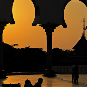 Masjid Agung Jawa Tengah by Ajoenk Photohunt - Landscapes Sunsets & Sunrises
