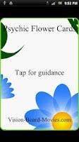 Screenshot of Psychic Flower Cards