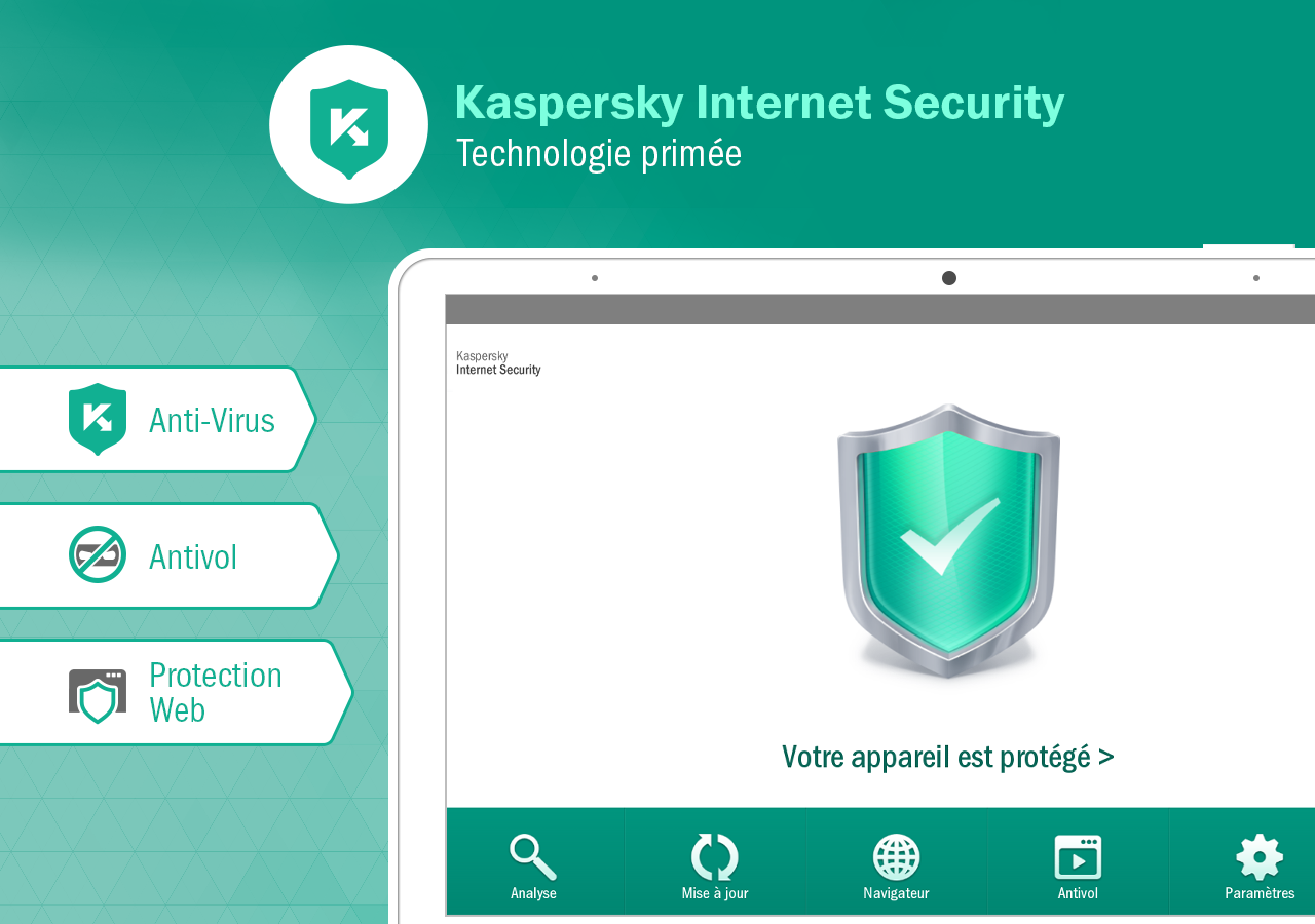 Kaspersky Internet Security – Capture d'écran